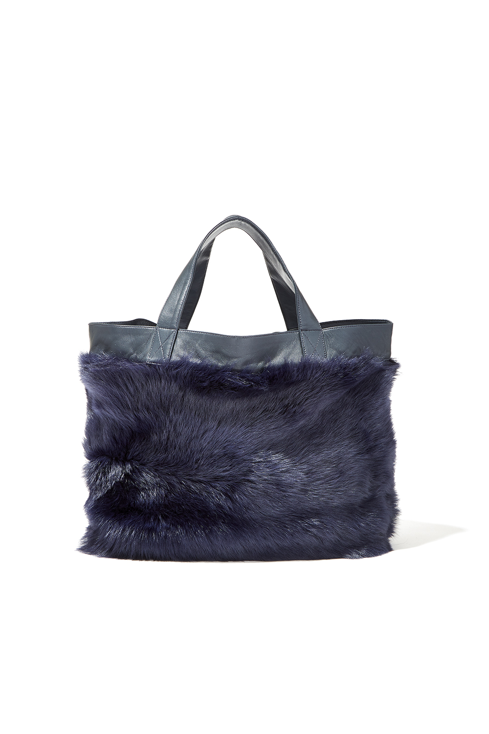 NAVY LILY TOTE
