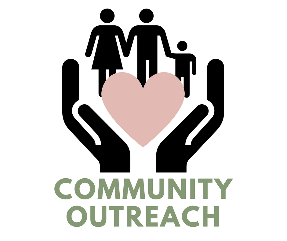 Our  Community Outreach  extends to the Women's Resource Center to which we donate professional clothing for women so they can go out to job interviews, and HQGR, to which we donate personal items for teens and young adults.