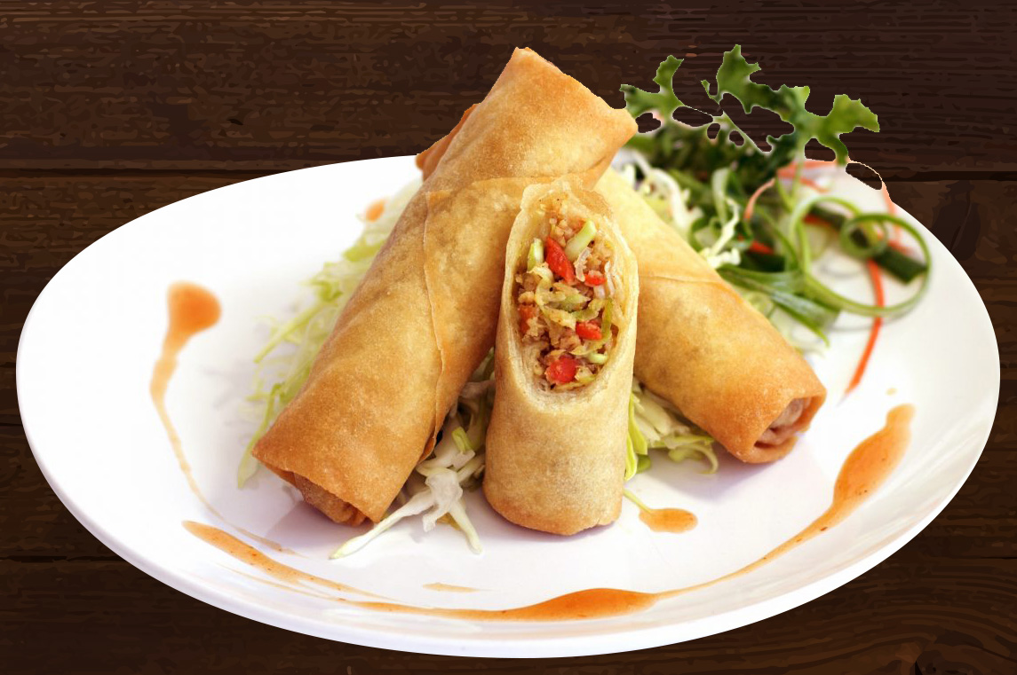 Vegetable Spring Rolls | Dim Sum