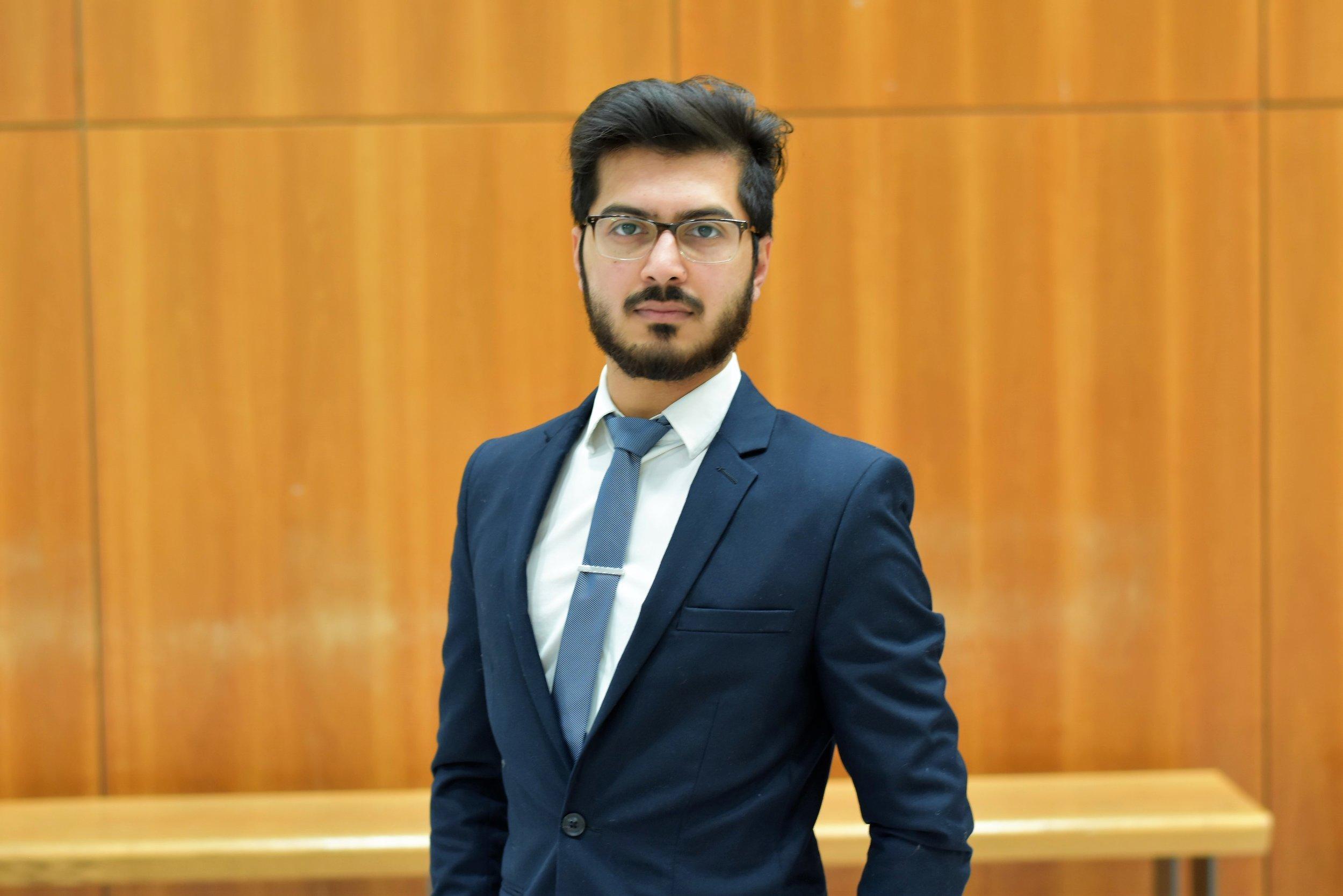 Chaman Bukhari - SCSYou VP-External Candidate
