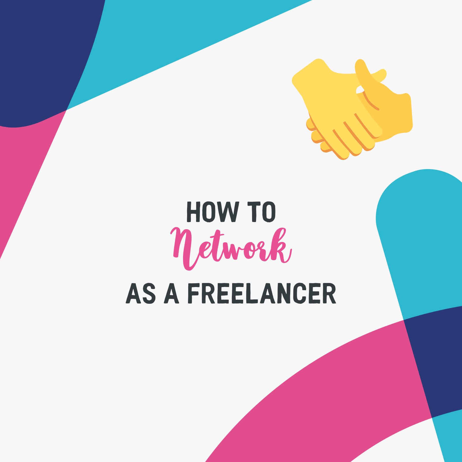 #10. Schmoozing, mingling, rubbing elbows... networking is a hugely valuable tool for freelancers for many reasons. Get expert tips on how and where to start networking, plus a couple of things you'll want to avoid. -