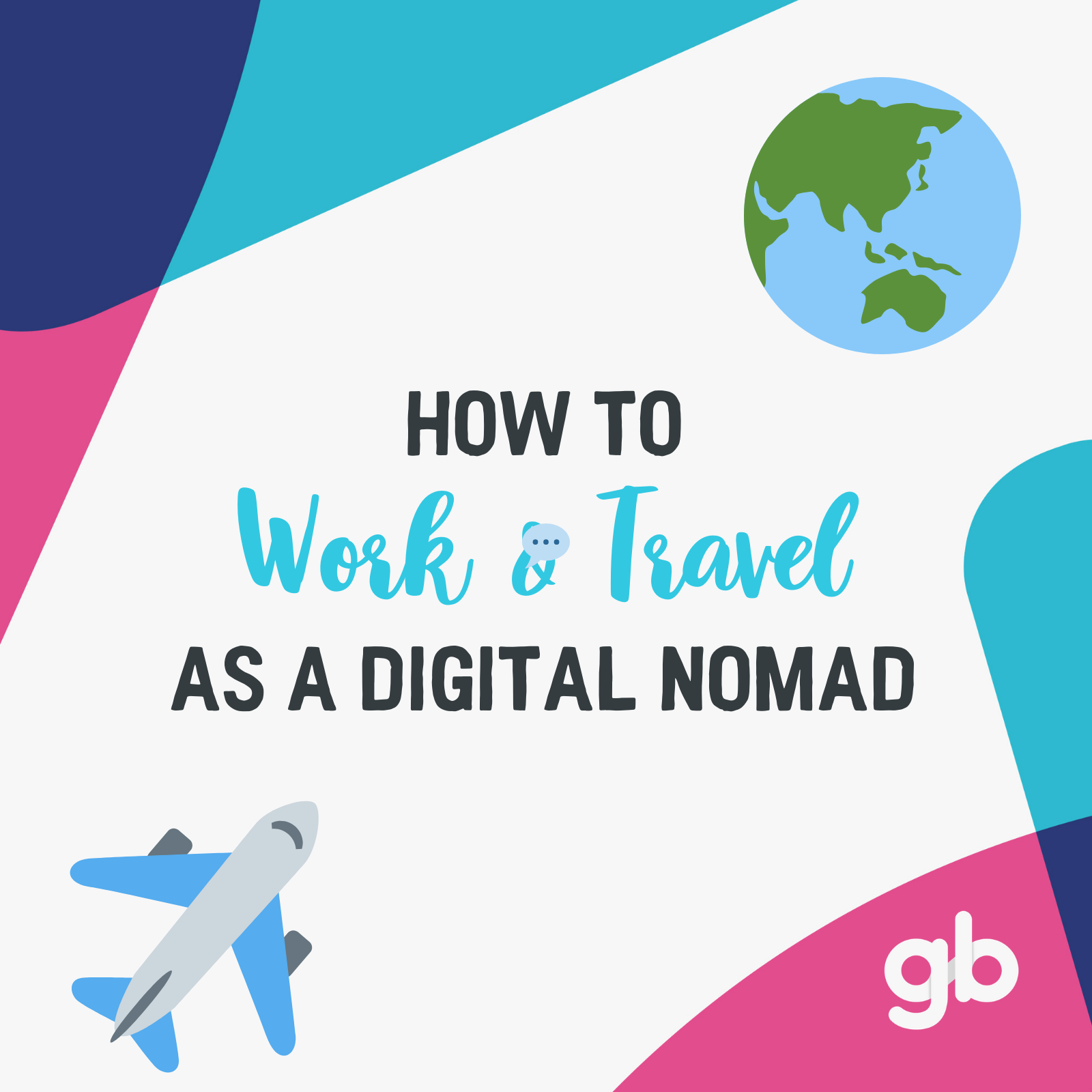 #14. Once you have a job you can do online, what's stopping you from travelling and taking that lifestyle abroad? Deciding to travel and work remotely can be a life-changing decision filled with many challenges & rewards. Get our best tips for managing your work while on the go. 🚖 -