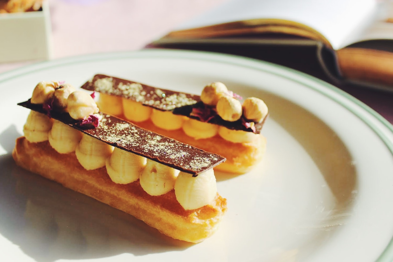 Hazelnut and Almond Paris-Brest
