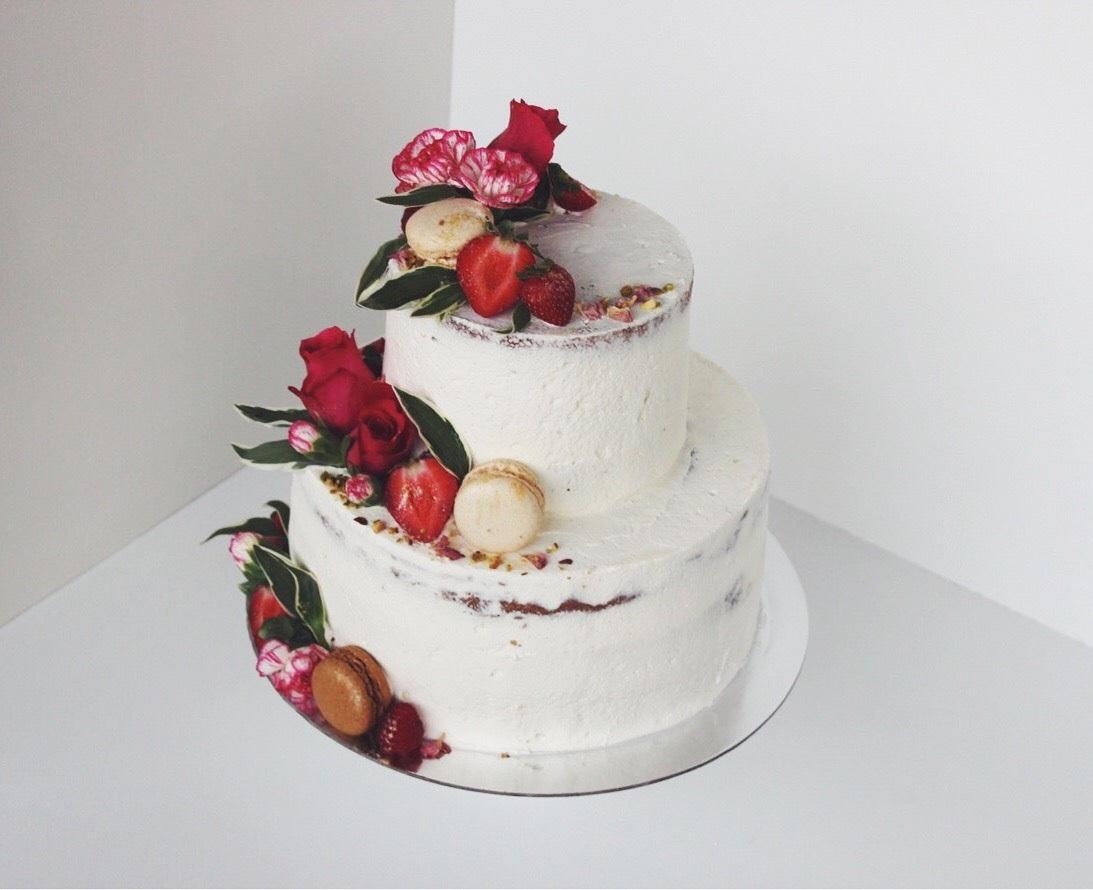 Earl Grey Cake/ Vanilla Cream