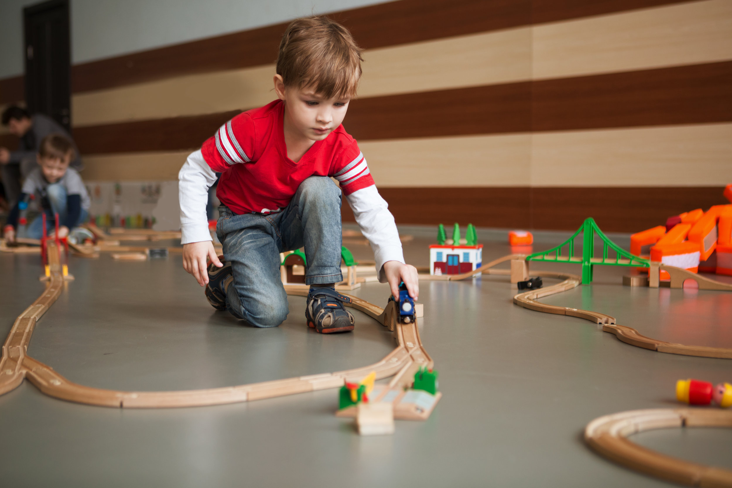 Well designed toys lead to open-ended play