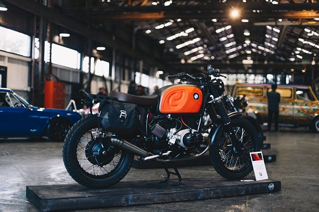 @skrunkwerks put in the hard yards to get his BMW  R90 Scrambler together for its debut at SIX ONE 2019. All his hard work clearly paid off! ... 📷by @fstylephoto #thesixone #melbourne #motorcycles #custom #twowheels #bikeshow #carshow #bikeevent #carevent #bmw #R90 #scrambler