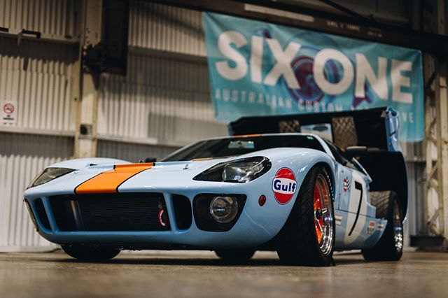 Jason's Ford GT40 Recreation. 📸 @fstylephoto #thesixone