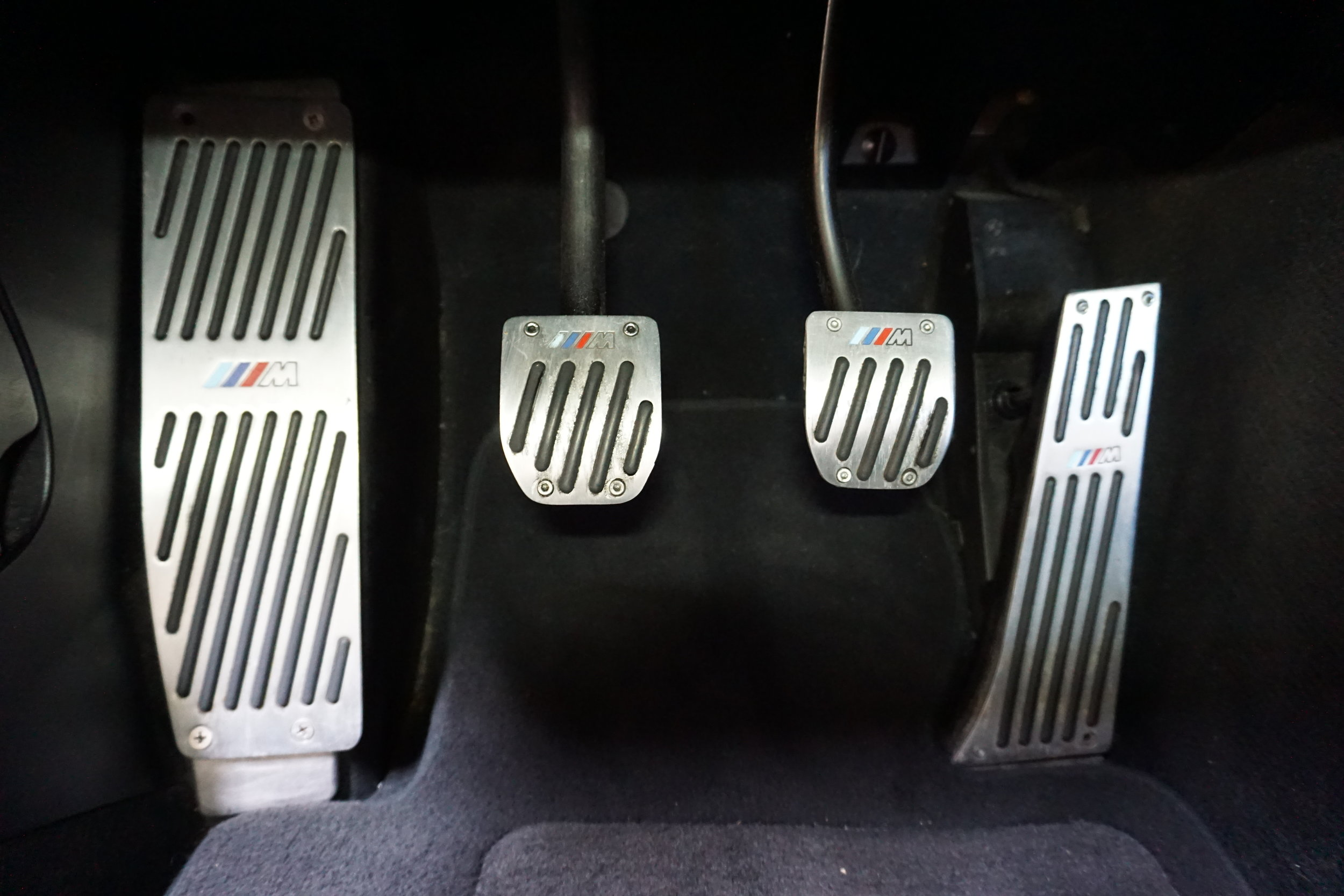 Last but not least. It's a 3 pedal M3. Yay!