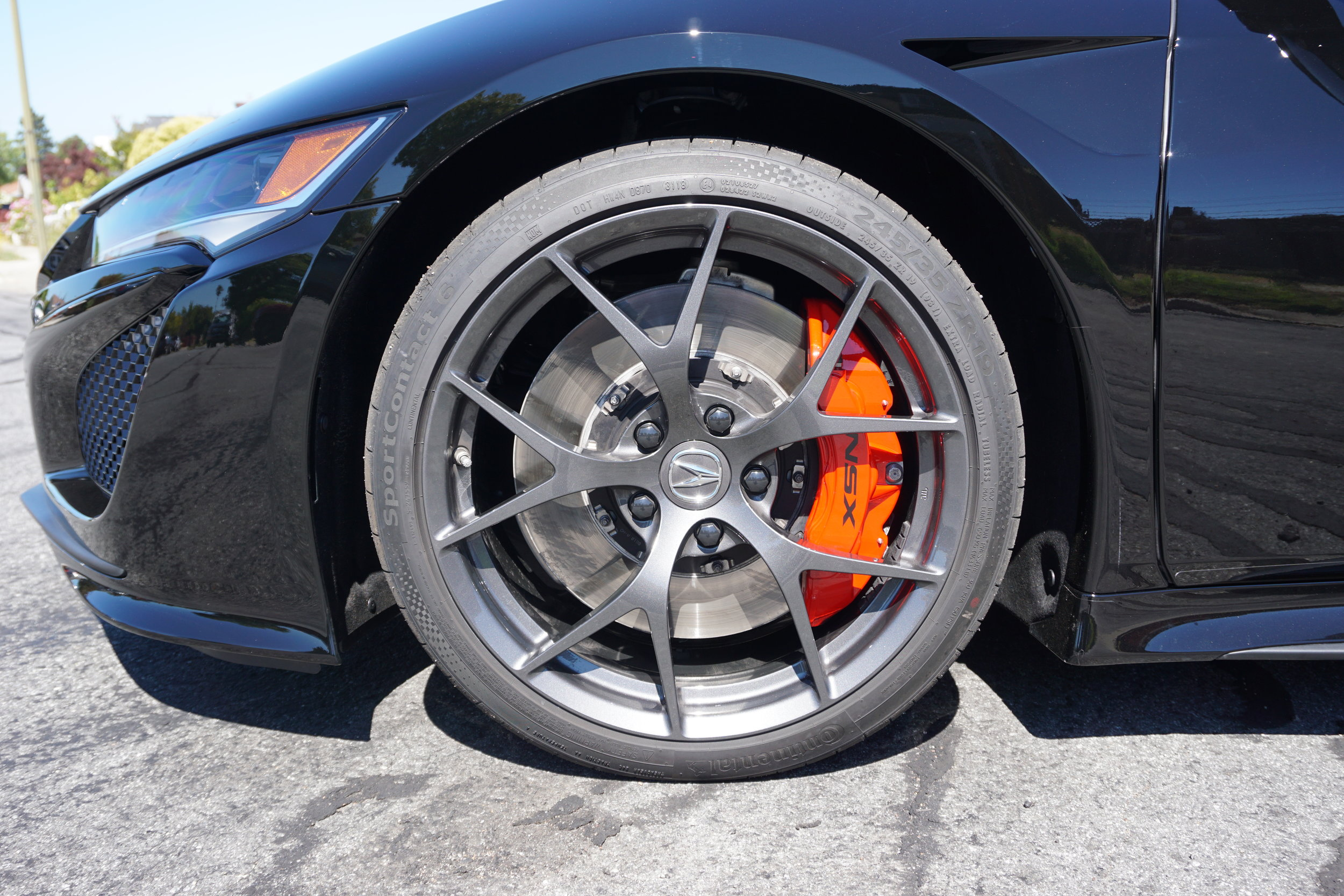 Some sweet stoppers on it. Tires are not dressed yet.