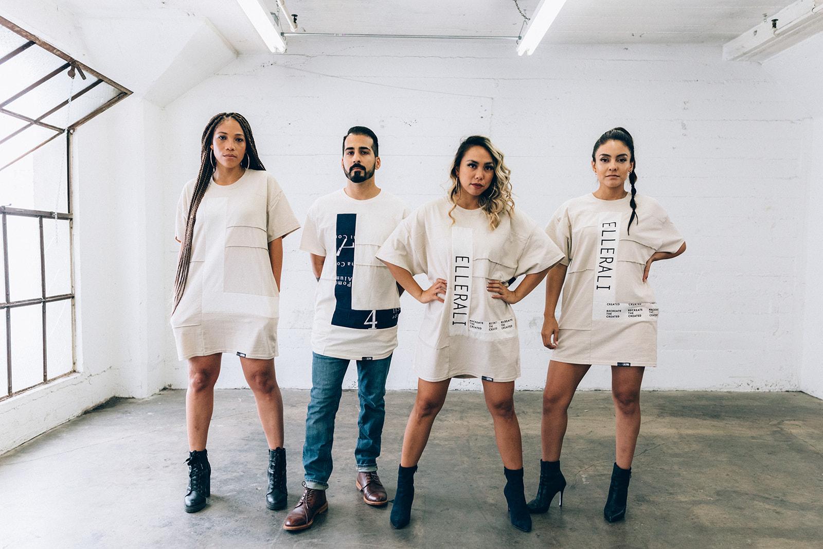 Off White Not Basic T-shirt - Gender Neutral, Pockets, Fresh, Upcycled.