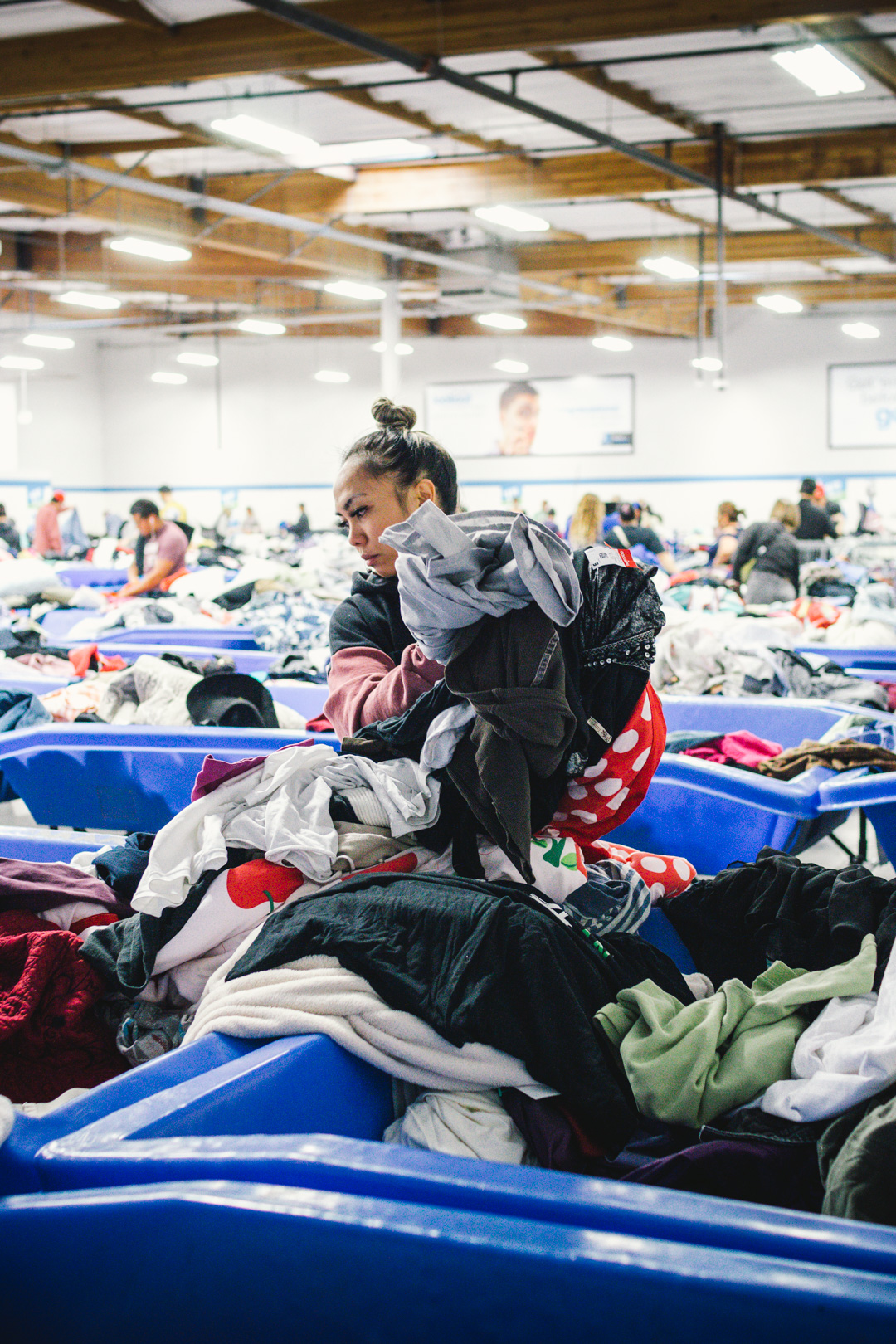 """""""The average American throws out 72 lbs of textile waste a year.""""Clothing last a long time.This is our WHY. - Read our story below."""
