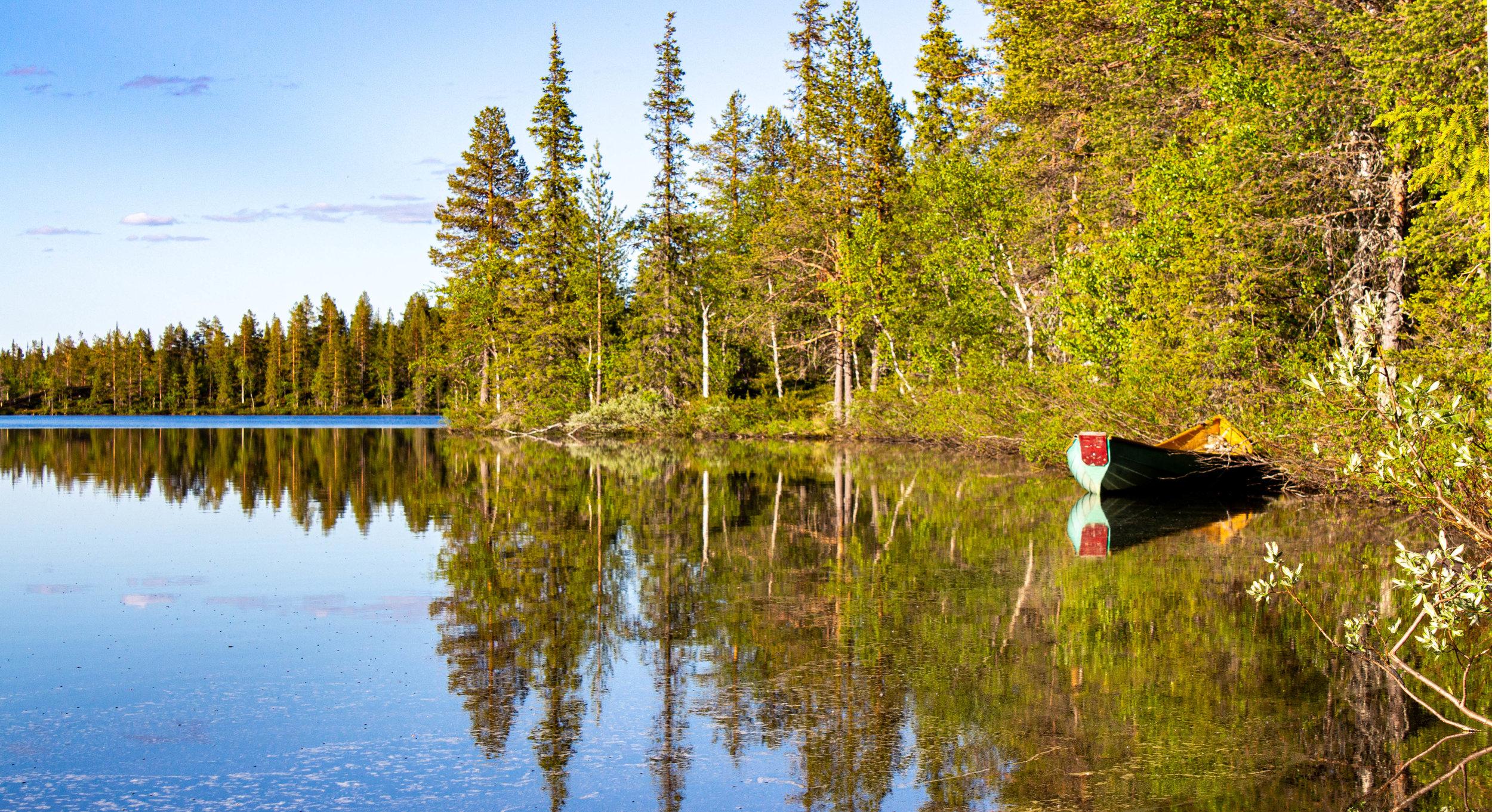 Pallasjärvi.