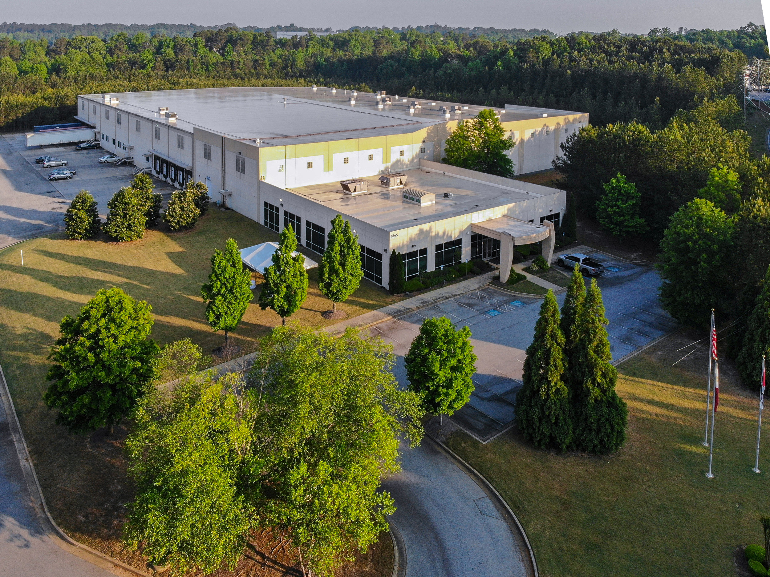 Red V Foods Corp. Headquarters and Manufacturing Facility in Atlanta, GA