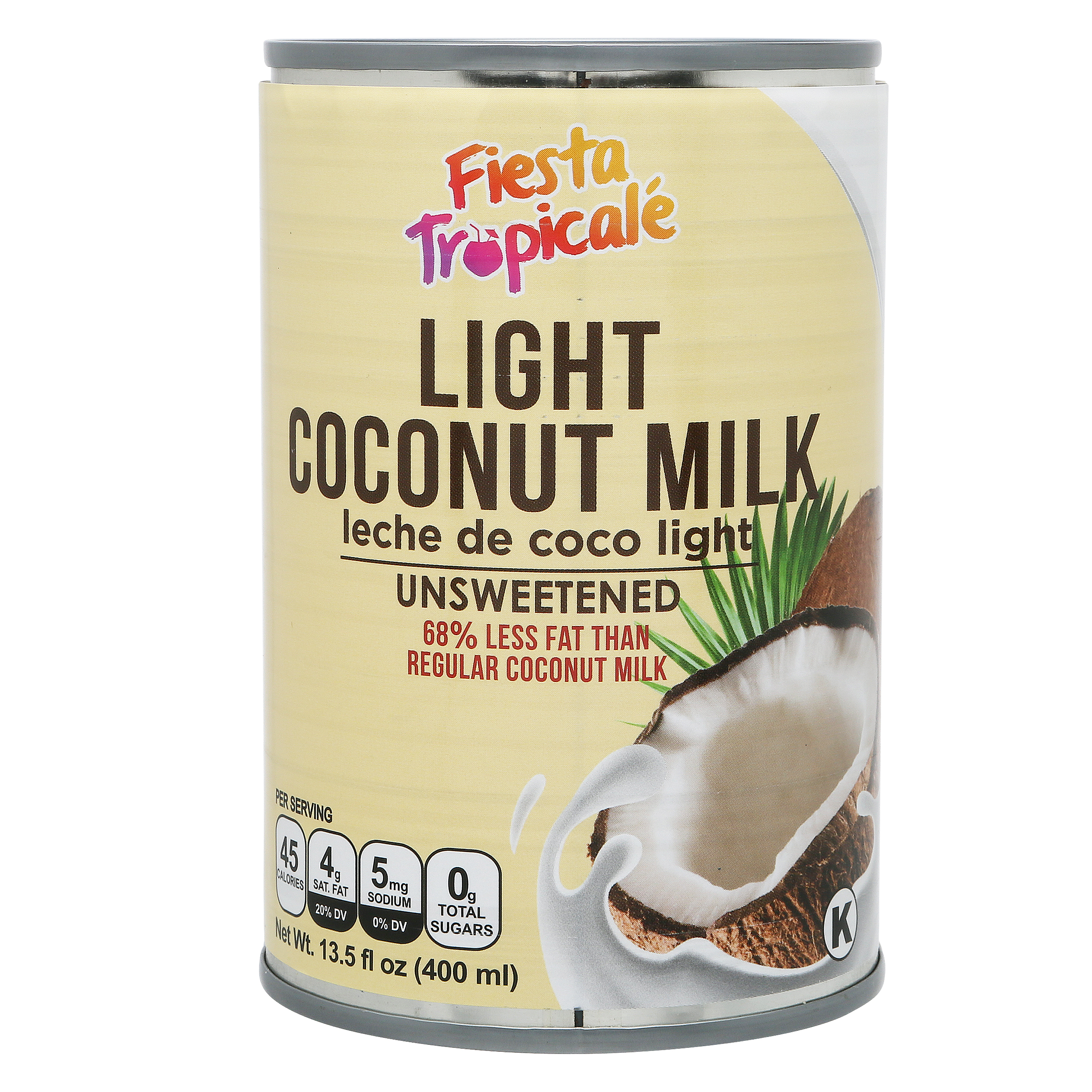 Fiesta Tropicale Light Coconut Milk_Front of Can