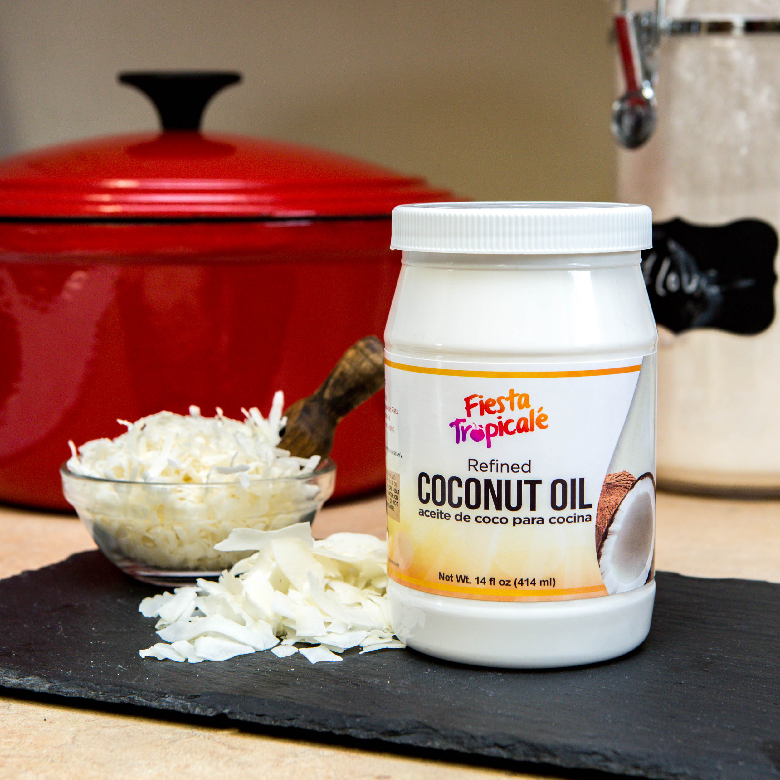Fiesta Tropicale Refined Coconut Oil on Amazon
