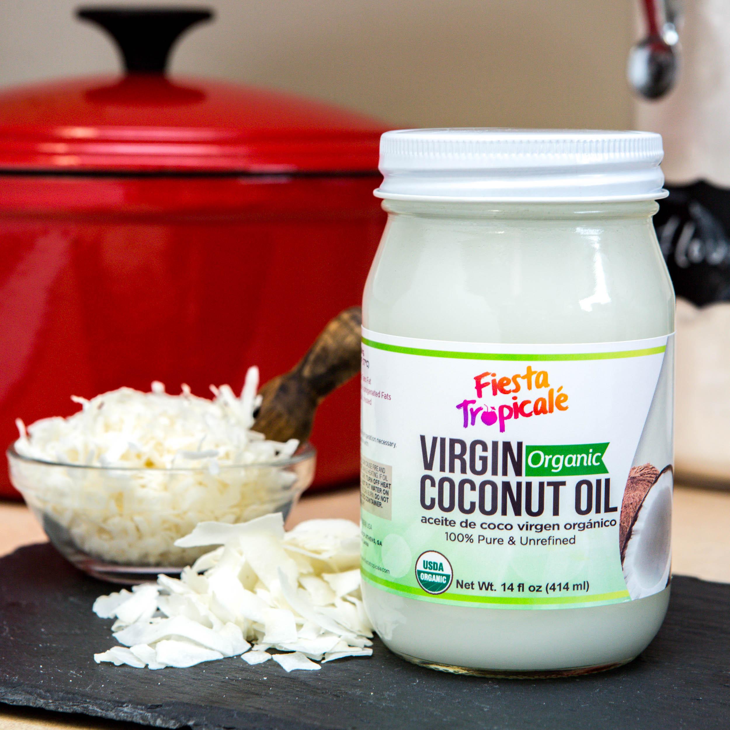 Red V Foods Organic Virgin Coconut Oil - Retail & Private Label