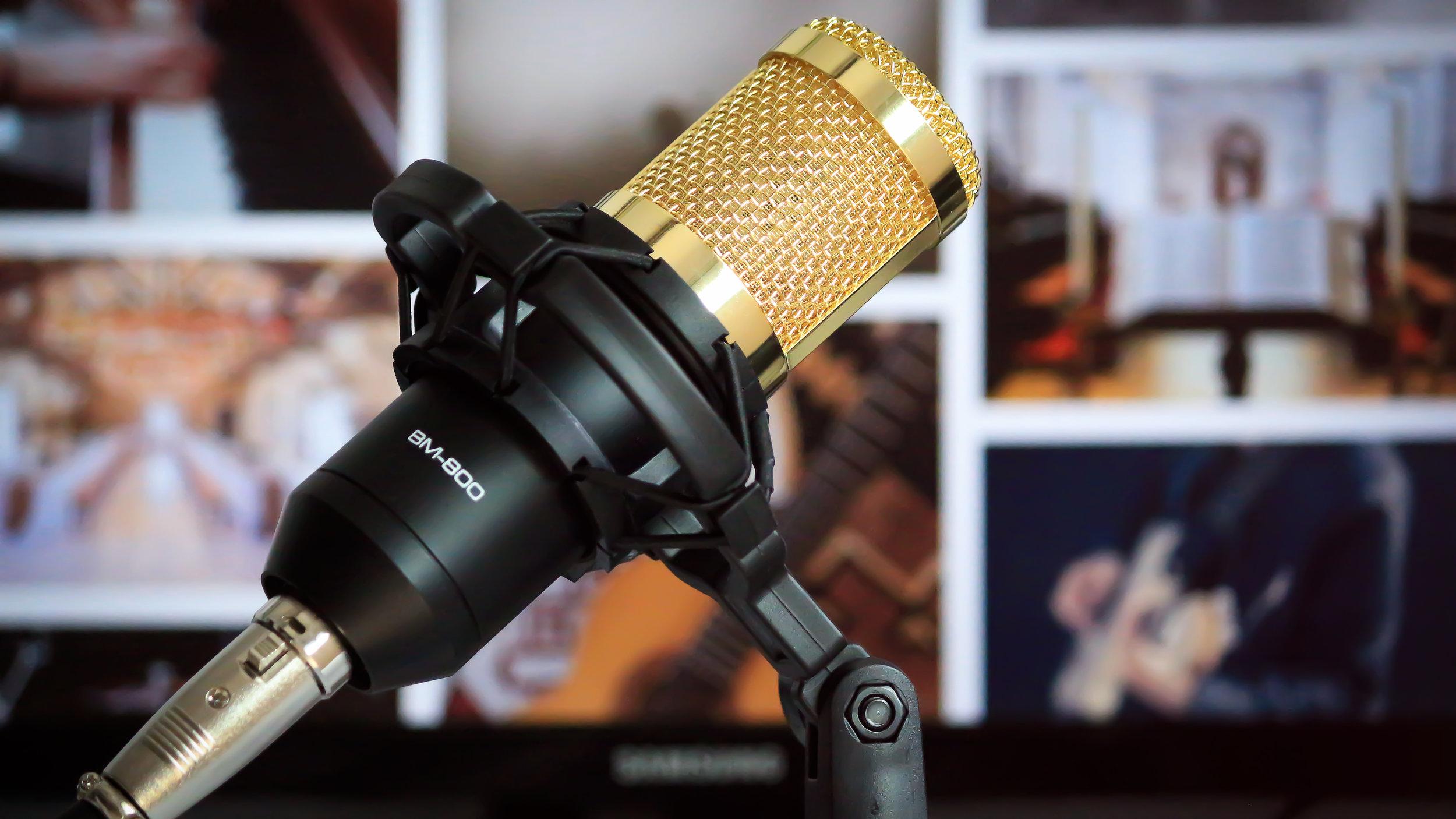 Von der Programmierung Ihrer Podcast Webseite, bist zur Bearbeitung Ihrer Aufnahme sind wir für Sie da.