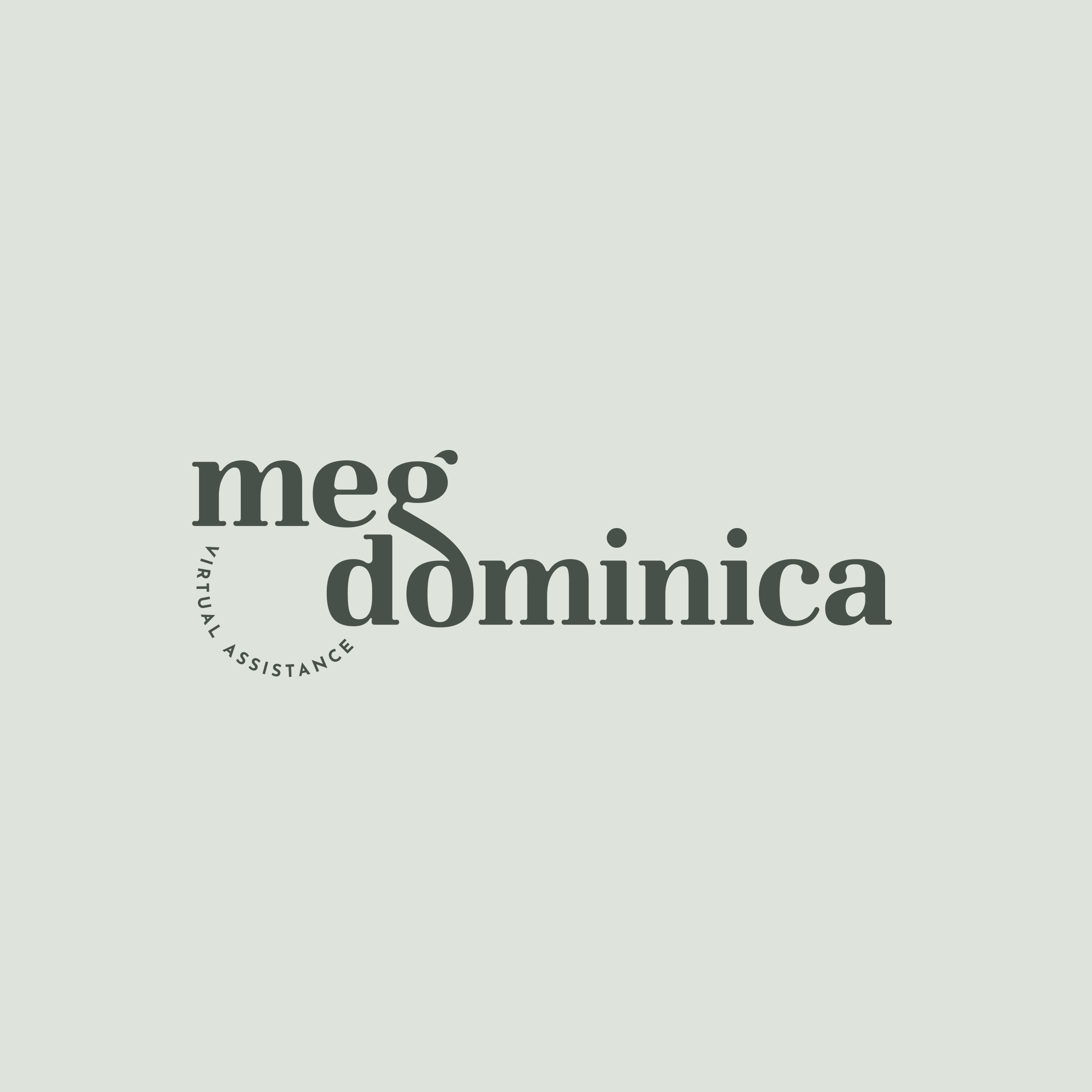 Meg Dominica - Logo Design