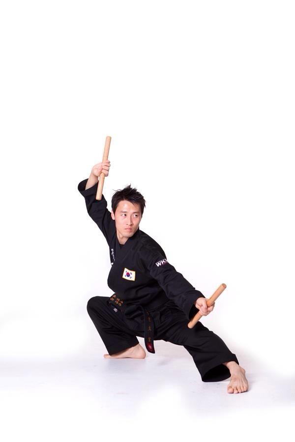 Buddhist Weapons | Short Staff | Dan Bong