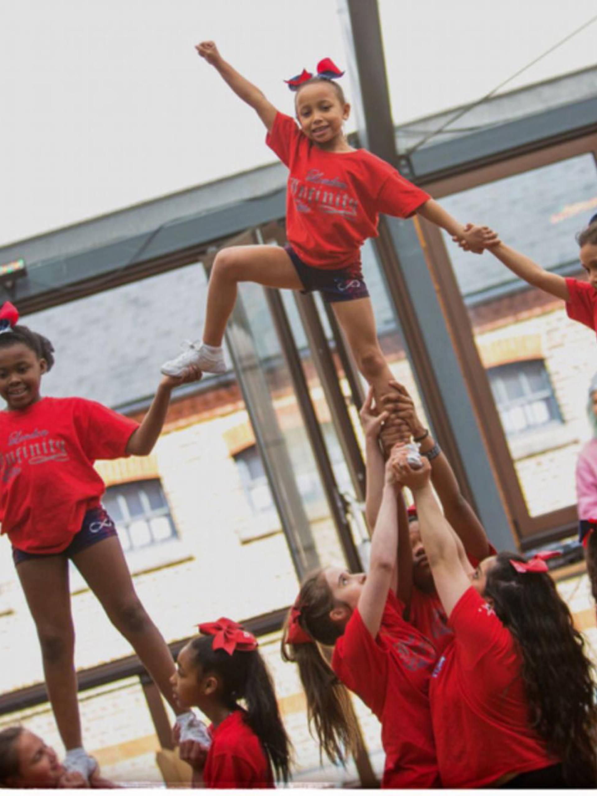 Weekly Cheer & Tumbling Sessions at Somers Town Community Centre