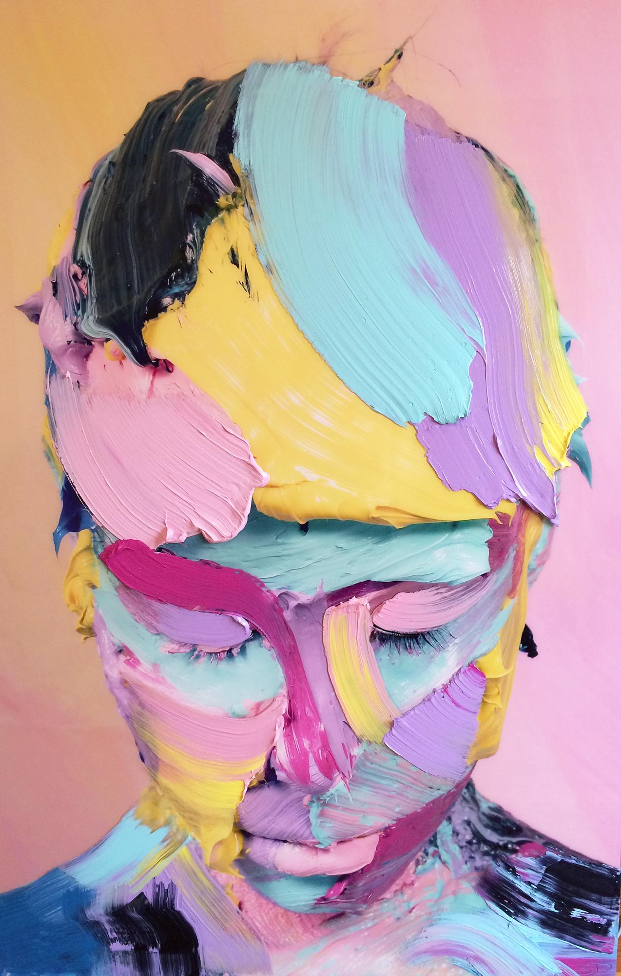 FEINT - Yellow/Pink #1