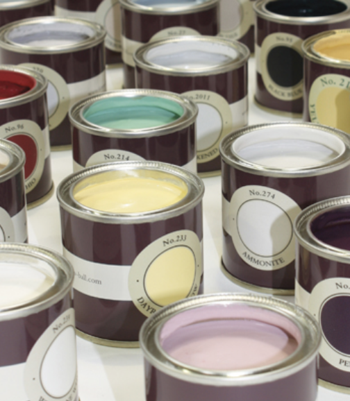 Estimate the quantity of paint you'll need. - Estimate the area to be painted in square metres. You will need 5 Litres per 30 square metres for 2 coats (or 20 square metres for exterior masonry paint). You will need 2.5 litres of undercoat per 30 square metres.