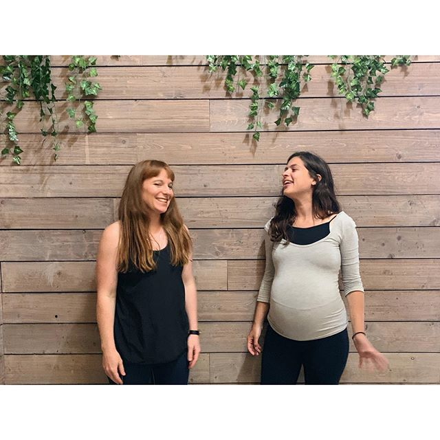 | R E S T |⁣ ⁣ Last Friday Gaia and I ran our last @poses.and.points workshop we will be doing  for a few months. As you can see 🤰🏽 Gaia will be taking some time away from teaching yoga for baby no.2!⁣ Check back on our page in Autumn to find out when the next session will be. ⁣ Our intention for the workshop was to Rest & Restore. A gentle flow holding yoga poses for longer helps us to relax, work into and release our deep muscle, tissue and fascia. Allowing us to access our parasympathetic nervous system 😑⁣ ⁣ Some people believe that the acupuncture meridians exist within the fascia which connects the whole body. So following the yoga practice with a couple of acupuncture points (while in savasana) will create a strong Qi connection 👌🏼