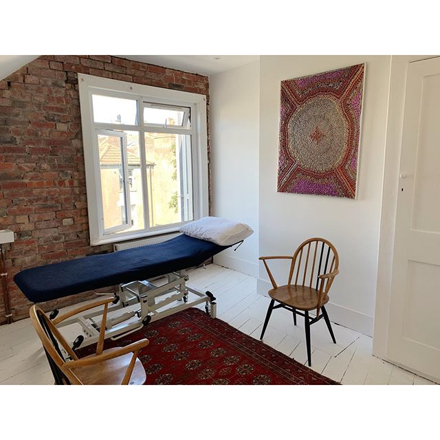 | New Space |⁣ ⁣ Beautiful new clinic rooms open at @reach_physio , as well as brand new yoga and pilates space!⁣ ⁣ This room at the top of the building is so quiet and peaceful, you feel like you are up in the clouds with all the birds tweeting through the window - BLISS!⁣ ⁣ I'm off on holiday today but will be back in the clinic treating from 19th Aug, so get in touch if you would like to book in!