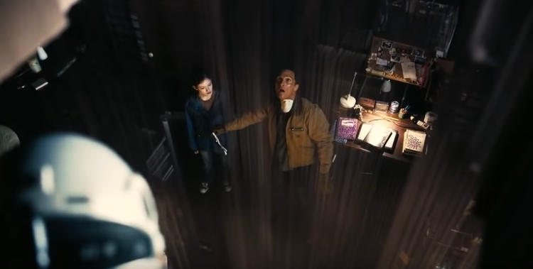 As Cooper peers out from the Tesseract into the physical reality of his daughter's bedroom, it captures this idea that a bedroom or a hallway in the Tesseract can exist almost anywhere in the physical world. Where our economy is digitized, the proximity and fragmentation of physical geography have disappeared.