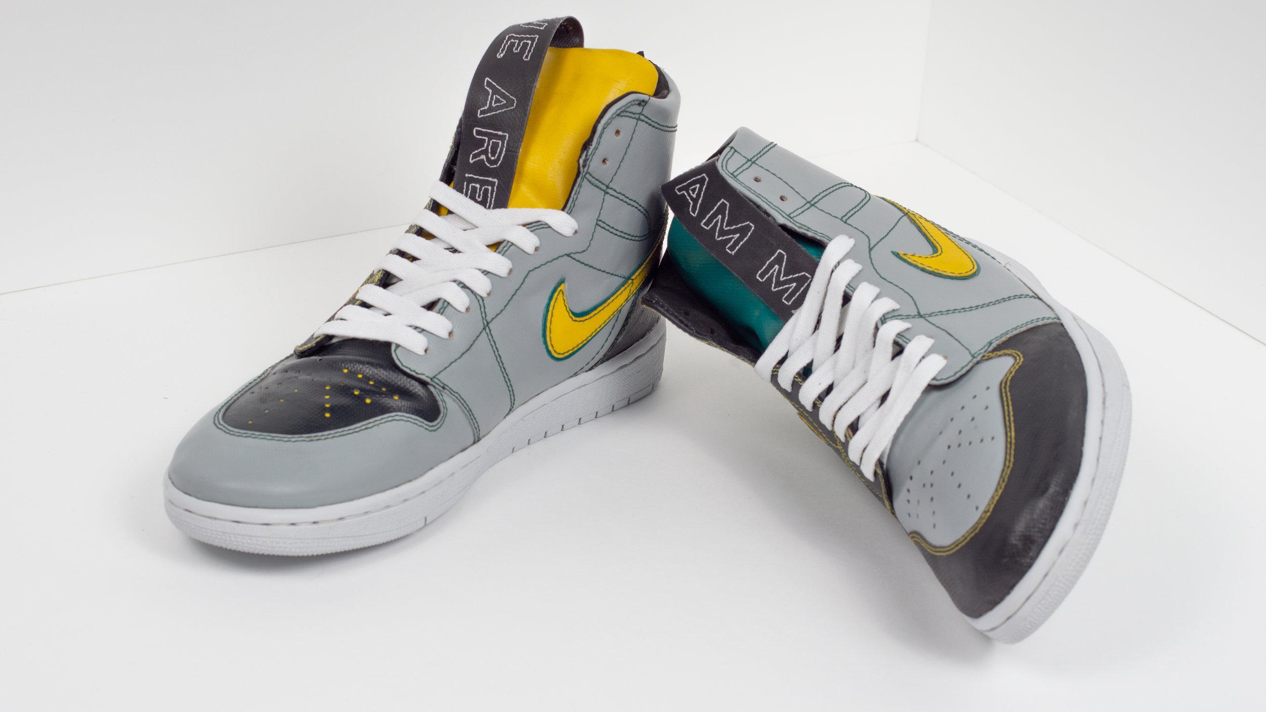 mimycri x Lars Trucks Jordan 1 Sneakers from mimycri