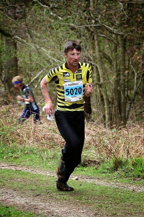 Charlie Adams grinds it out at the British Orienteering Championships 2015