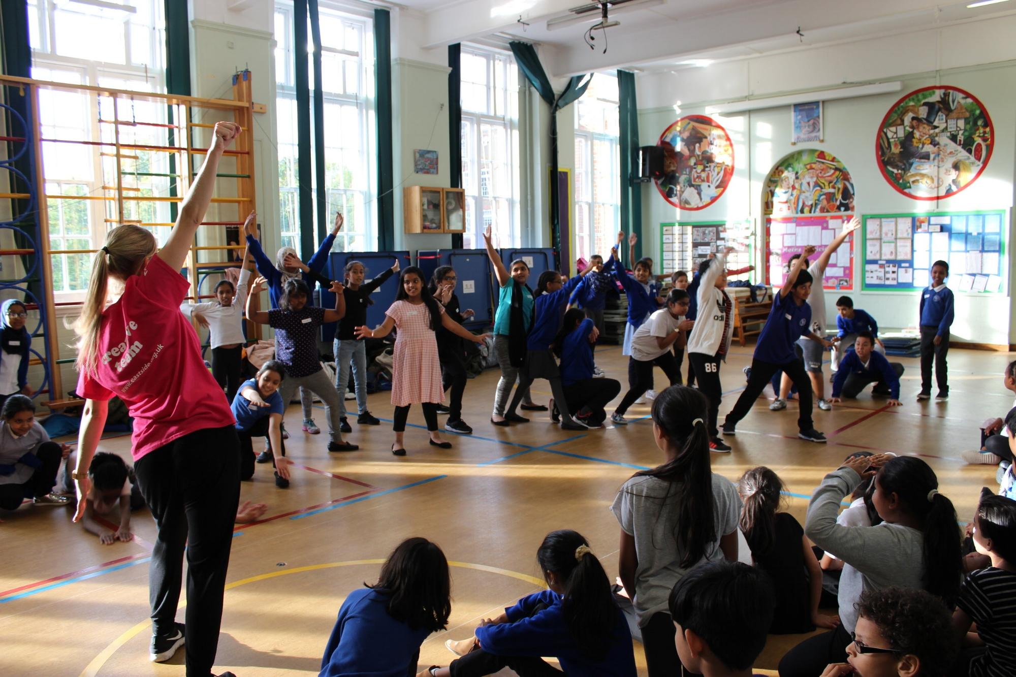 *Disney Musicals in Schools - children playing in workshop.JPG