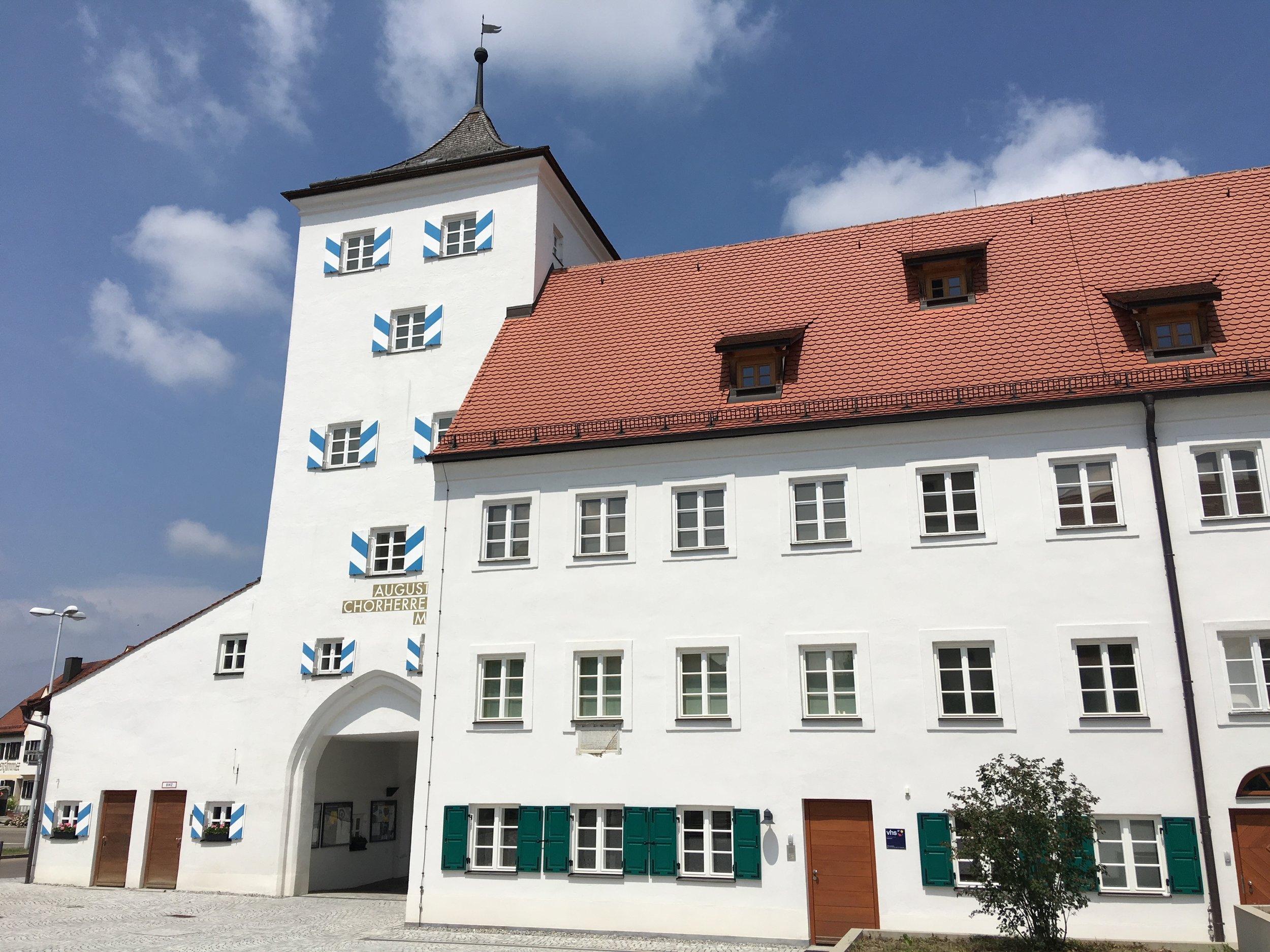 The convent at Kloster Indersdorf today. Photo: Rosie Whitehouse