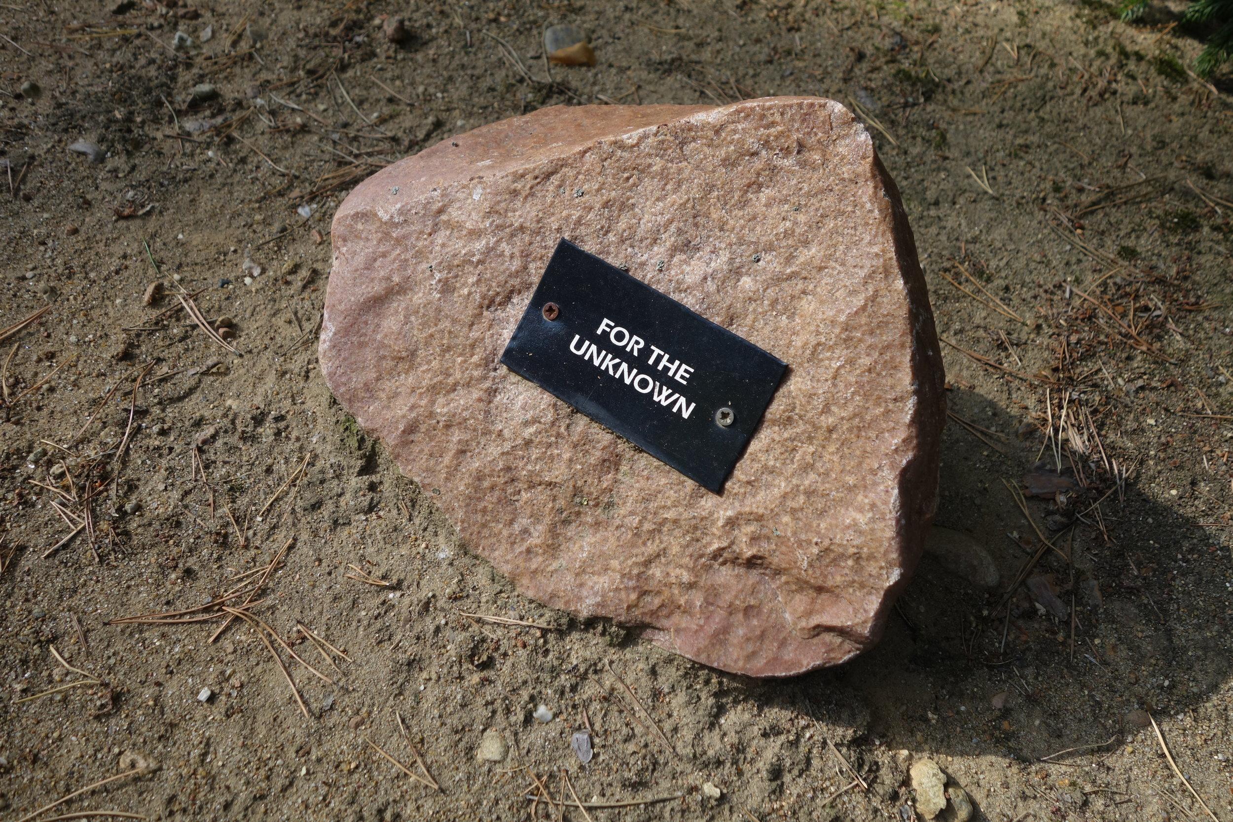 Memorial stone at the Sobibor extermination camp. Photo: Tim Judah