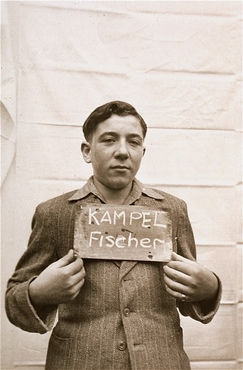 This picture of Fischel Kampel was taken in Kloster Indersdorf in 1945. Picture: USHMM