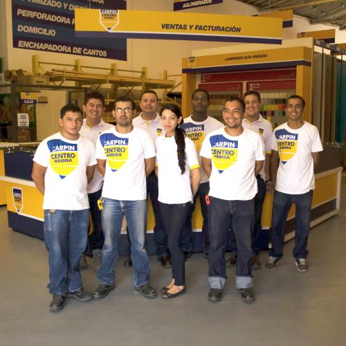 equipo carpincentro