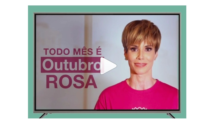 We launched this week, on Globosat channels, a commercial with our ambassador Ana Furtado, to promote the campaign Every Month is Pink October .All production and delivery of this commercial was done voluntarily and at no cost to the Protea Institute. - Click on the image and watch!