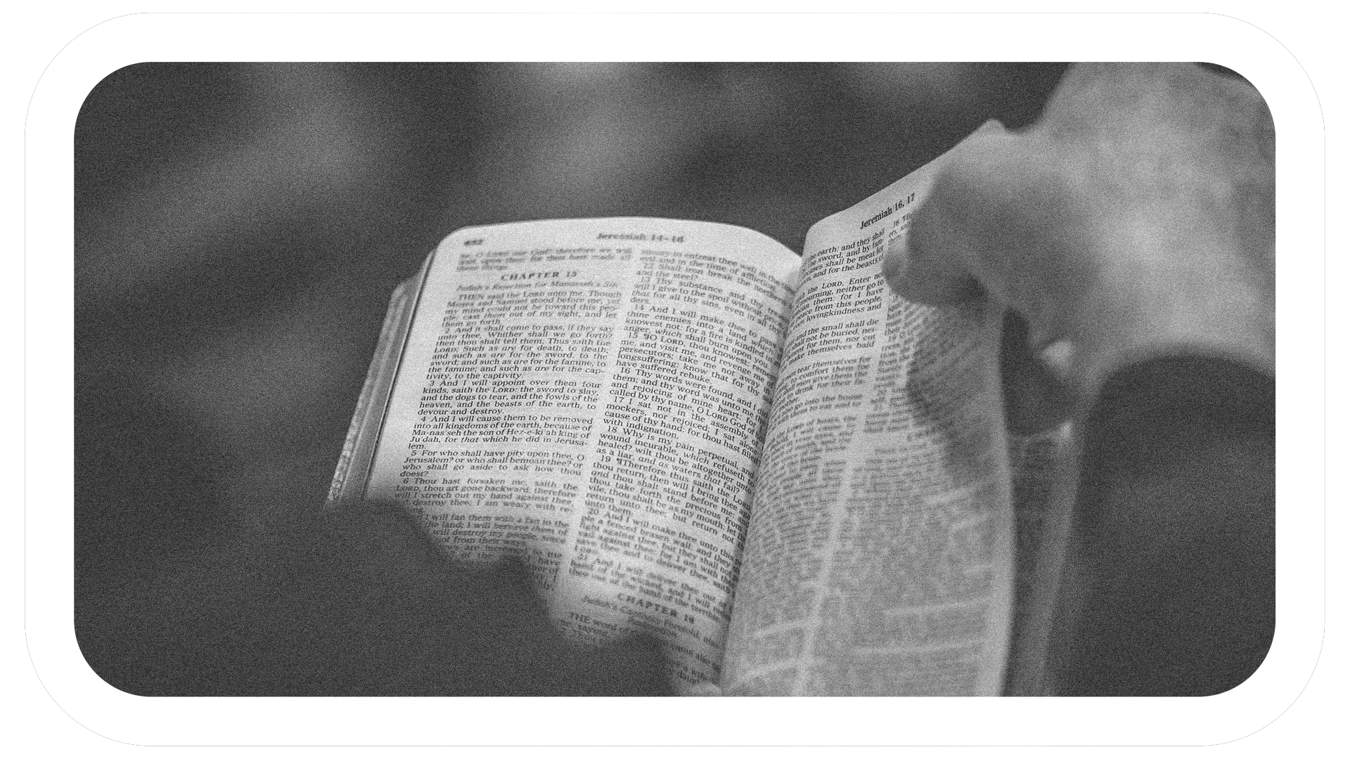 READING TOGETHER - Join us as we read through the Bible this year.