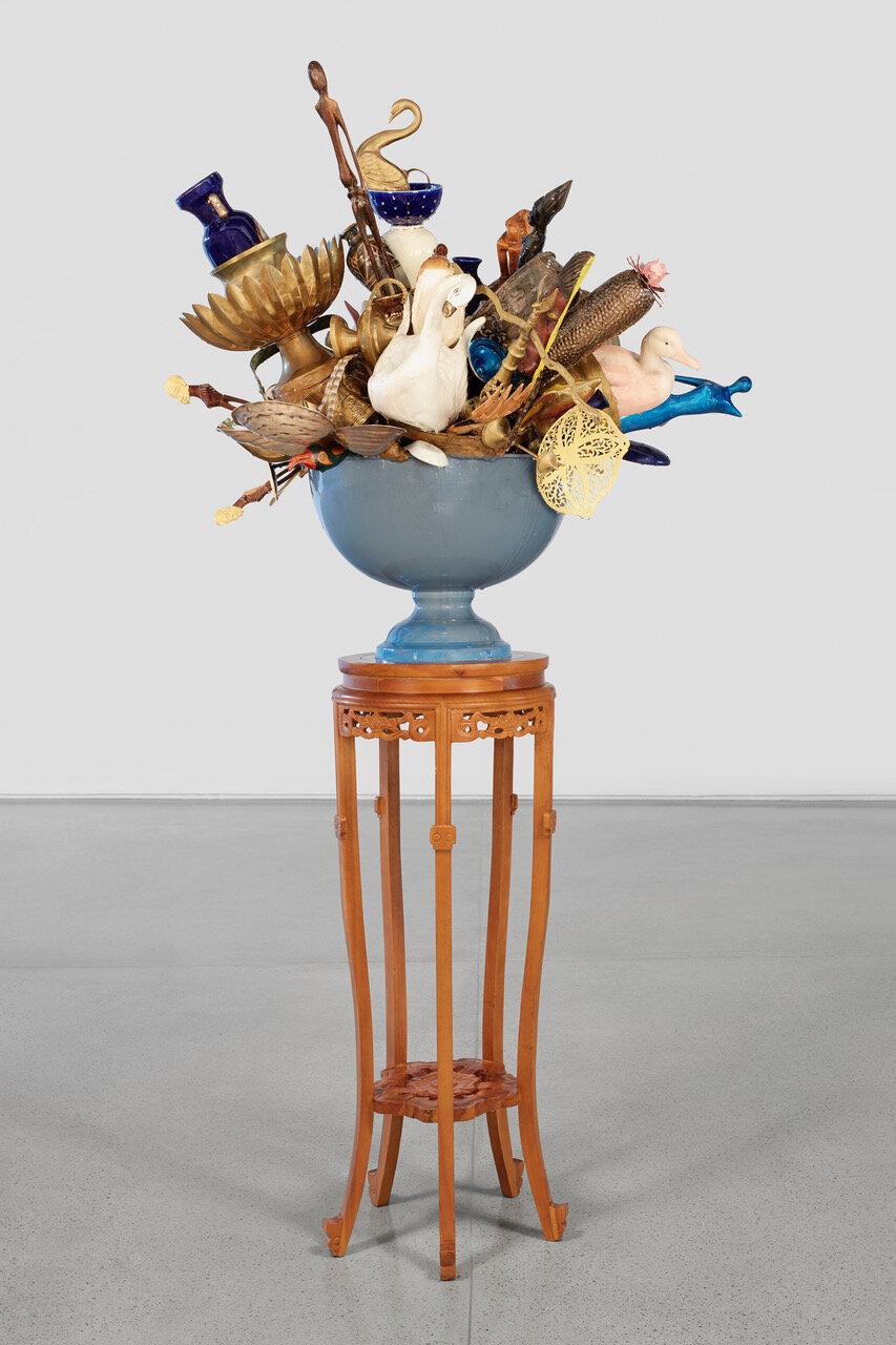Oorvloed   Stephané Conradie  2019  Mixed media relief sculpture