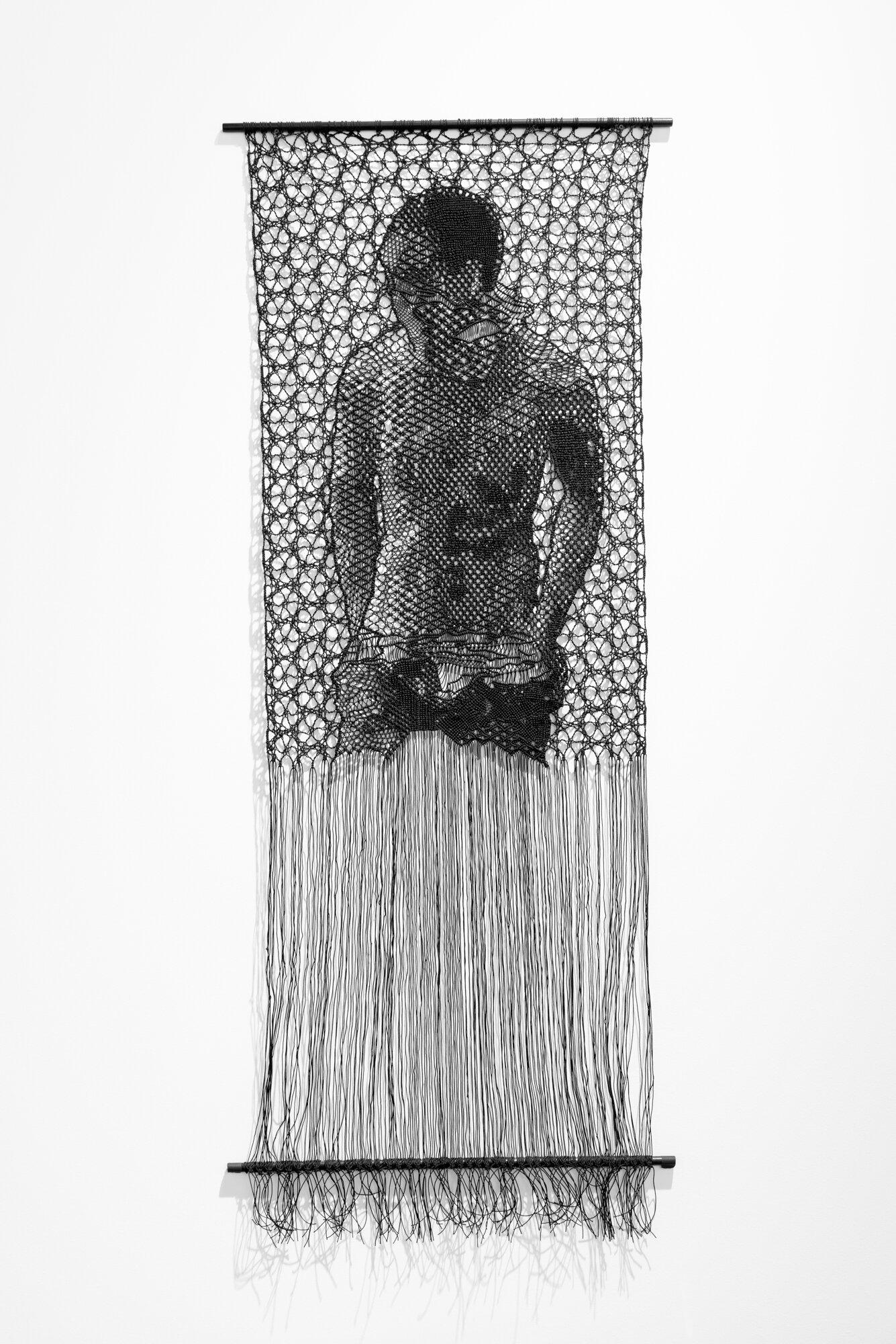 The Judgement of Paris (After Wtewael)   Pierre Fouché  2013  Polyester braid