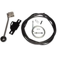Remote 3-way brake