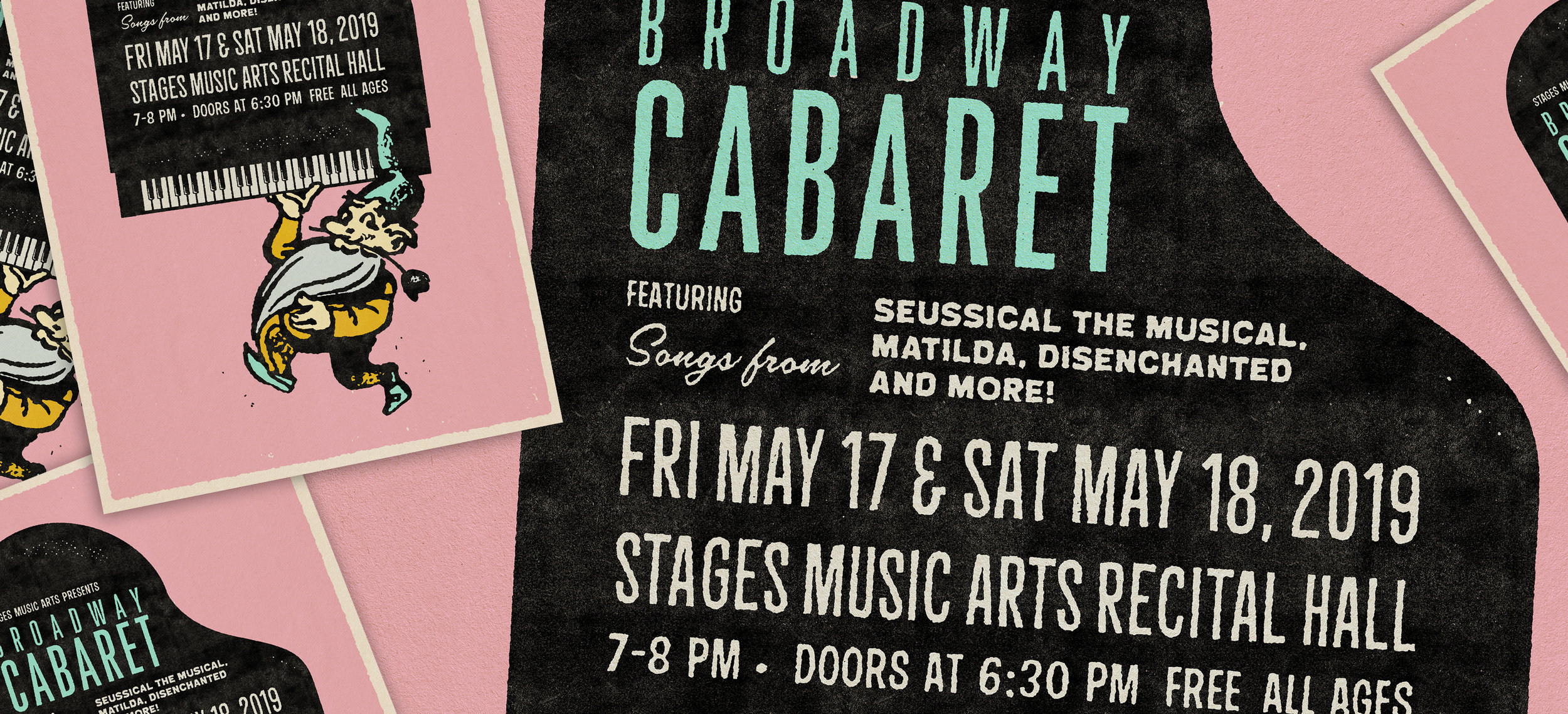 Stages Music Arts' Broadway Cabaret - Friday, May 17th & Saturday, May 18th7:00PM–8:00PMStages Music Arts Recital Hall