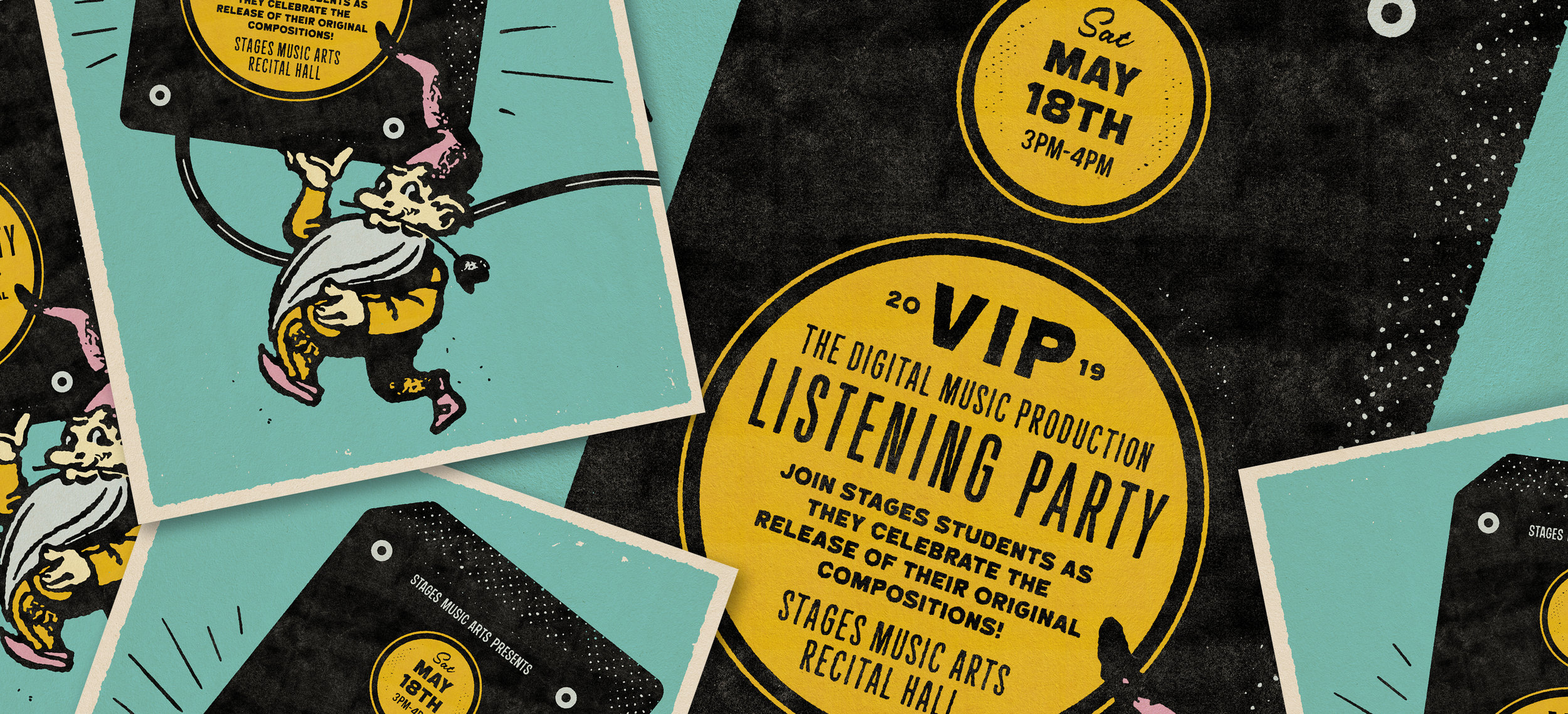 Digital Music Production Listening Party - Saturday, May 18th3:00PM–4:00PMStages Music Arts Recital Hall