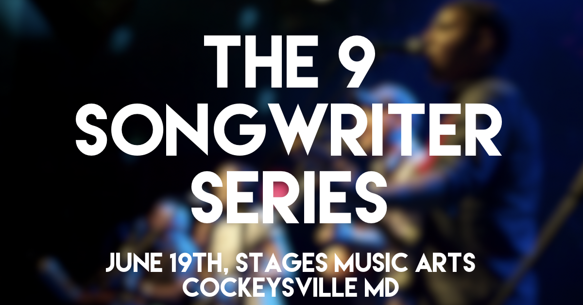 The 9 Songwriter Series - Wednesday, June 19th7:00PM – 10:00PMStages Music Arts (map)$15 in advance, $20 at the doorFeaturing performances by Justin Trawick, The Meantime, Steve Herrera, Grayson Moon, Jon Zorn, Cecilia Grace, John Bolten, Abby Becker & L. Rodgers!