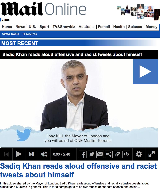 Sadiq Khan Mean Tweets - Mail Online.png