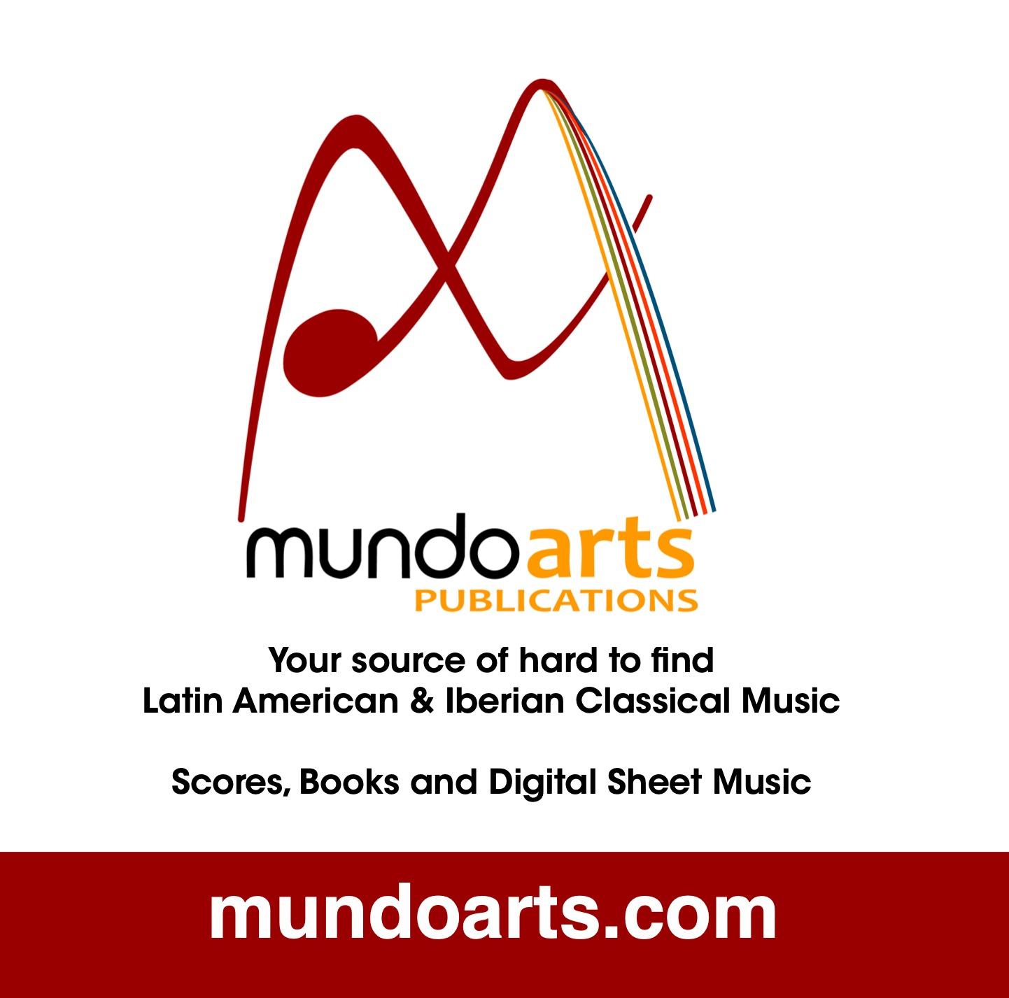 Mundoarts Latin American sheet music