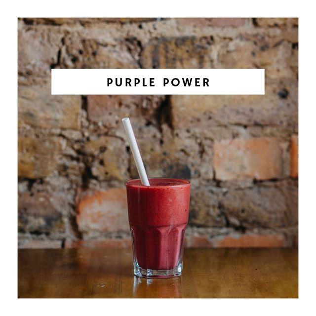 The name says it all! One of our most popular the Purple Power  contains strawberries, pineapple and beetroot to name a few. ⠀⠀⠀⠀⠀⠀⠀⠀⠀ ⠀⠀⠀⠀⠀⠀⠀⠀⠀ Beetroot contains high levels of nitrates which can help lower blood pressure, increase power in our muscles and help you to exercise for longer....so it kind of rocks! photo: @me_on_sea⠀⠀⠀⠀⠀⠀⠀⠀⠀ .⠀⠀⠀⠀⠀⠀⠀⠀⠀ .⠀⠀⠀⠀⠀⠀⠀⠀⠀ .⠀⠀⠀⠀⠀⠀⠀⠀⠀ .⠀⠀⠀⠀⠀⠀⠀⠀⠀ #beetroot #benefitsofbeetroot #purplepower #smoothie #freshlymade #nitrates #healthbenfits #leighonsea #leighbroadway #thesqueezecafe