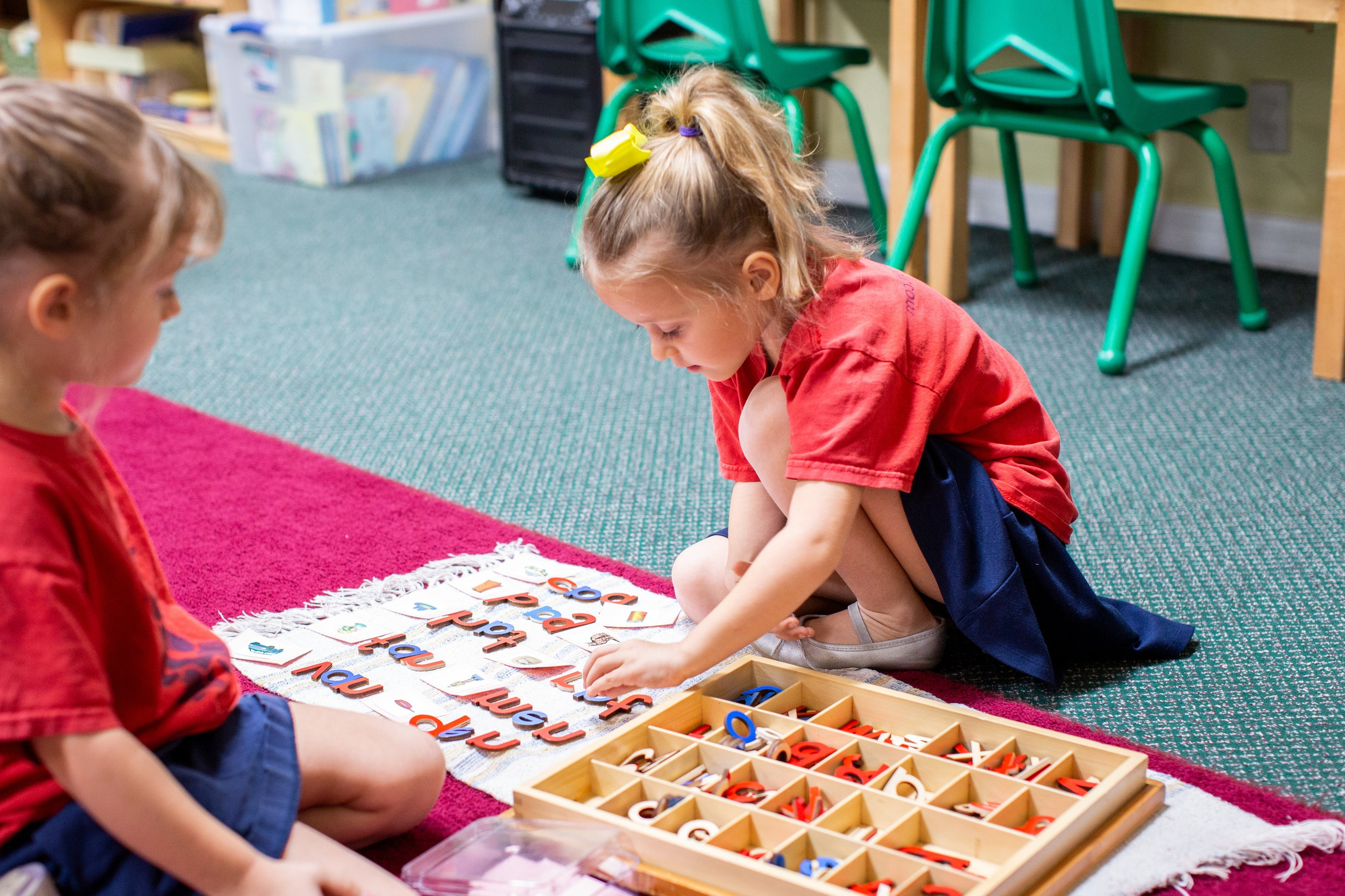 """Our Vision - """"To be the premier early childhood education program in the Tampa Bay area."""""""