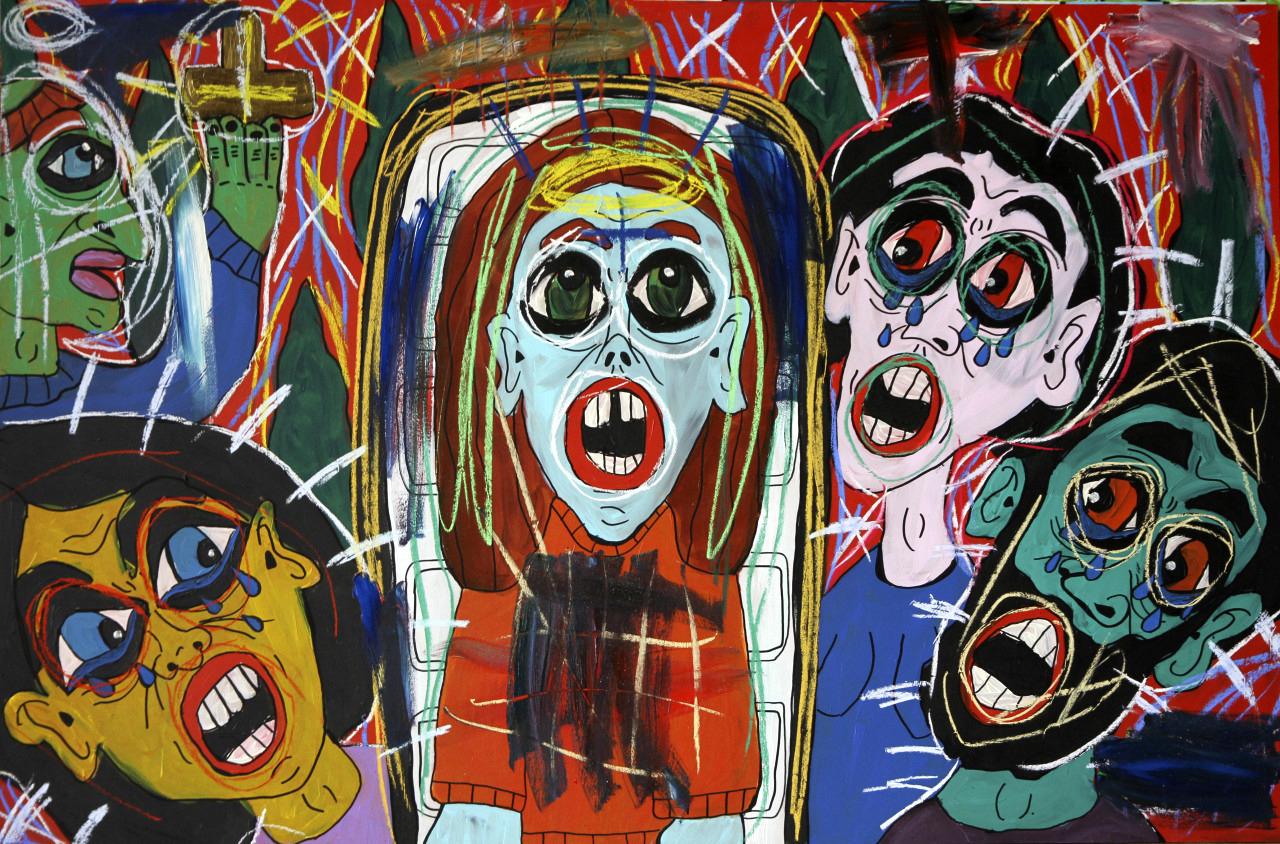 """""""El Entierro de Mi Juventud"""" (""""The Burial of My Youth"""")  by Ana Pallares, 2013."""