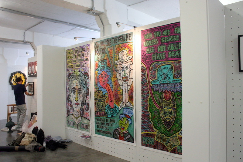 Trypthic at Illustrated 2016 at The Truman Brewery
